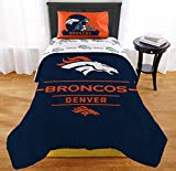 "The Northwest Company NFL Denver Broncos ""Monument"" Twin XL Comforter Set #157945799"