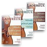 Laoureux Método Prático Para Violino - Kit Livros 1, 2 e 3