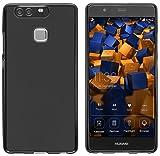 mumbi Hülle kompatibel mit Huawei P9 Handy Hülle Handyhülle, schwarz