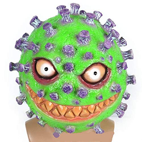 YDXH 2020 Maschera Coronavirus Lattice Copricapo Halloween Gioco Props