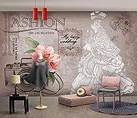 写真の壁紙レトロな服の結婚式のツールの背景の壁リビングルームの壁の芸術の壁の装飾の家の装飾のための大きな壁壁画シリーズの壁紙-137.8x98.4inch/350cmx250cm