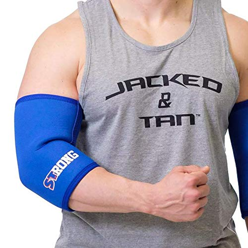 Strong Elbow Sleeves - Black, 2XL