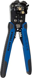 Klein Tools 11061 Wire Stripper / Wire Cutter for Solid and Stranded AWG Wire, Heavy Duty Kleins are Self Adjusting