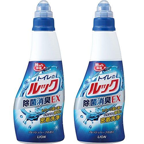【まとめ買い】トイレのルック 便器用洗浄剤 本体 450ml×2個パック