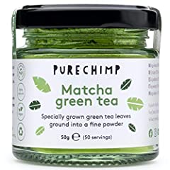 Ceremonial grade matcha green tea from Japan - Matcha tea grown without the use of pesticides Can help to improve your mood, memory & concentration 137x more EGCG (an antioxidant) than in regular green tea Boost your metabolism & energy levels with o...