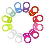 Schnullerketten Silikonring Adapter (Rosa)