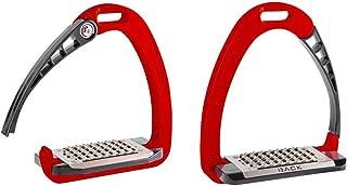 Acavallo Arena AluPro Safety Stirrup Red ONE