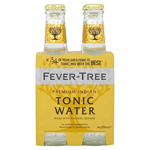 Fever-Tree Indian Tonic Water 4 x 200 ml