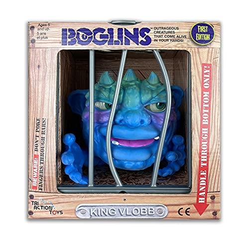 TriAction Toys Boglins 8-Inch Foam Monster Puppet   King Vlobb