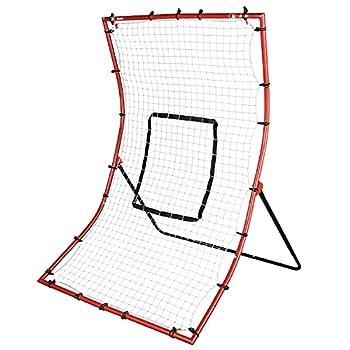 Franklin Sports Baseball Rebounder Net - Baseball + Softball Pitchback Net + Pitching Target - All Angle Bounce Back Net - Return Fielding Trainer - 44