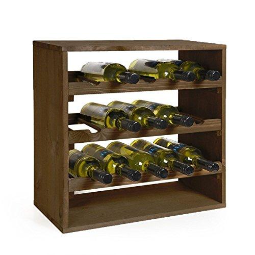 Kesper Weinflaschen - Regalsystem für 15 Flaschen