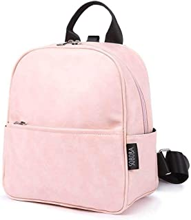 Redland Art Kindergarten Backpack For Girls Waterproof Pink Bag Large Capacity Cute Anti-lost Toddler Baby Harness Backpack For Naughty Kids (Color : Pink)