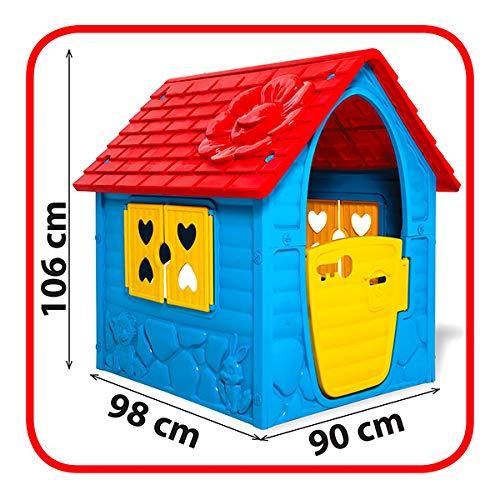 Thorberg Speelhuisje, kleurrijk (made in EU), speelhuisje