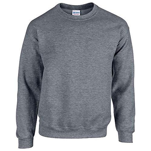 Gildan - Heavy Blend Sweatshirt - S, M, L, XL, XXL, 3XL, 4XL, 5XL /Graphite Heather, M