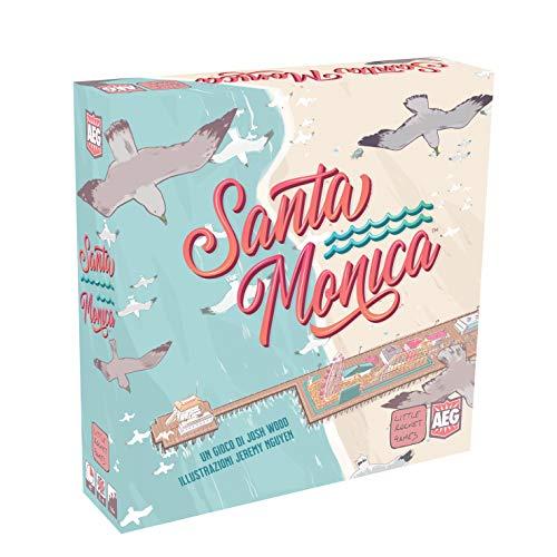Little Rocket Games SANTA MONICA Gioco da Tavolo in Italiano