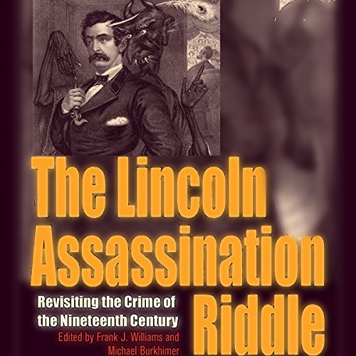 The Lincoln Assassination Riddle audiobook cover art