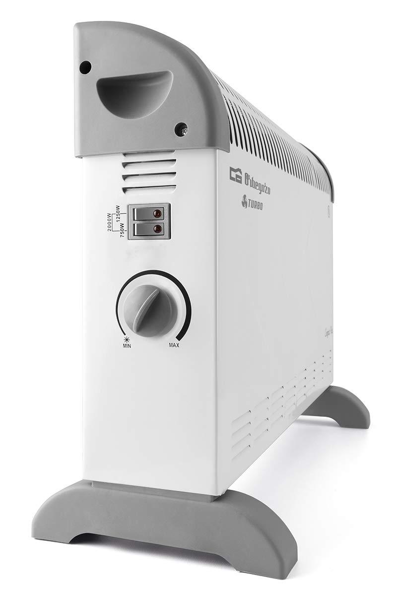 Orbegozo CV 2300 A Convector, 3 niveles de potencia, protección ...