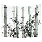 Tapicería decorativa para el hogar Mural Art Painting Bamboo Tapestry Wall Hanging Art Set 150 * 130 cm