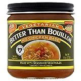 Better Than Bouillon Vegetarian No Chicken Base, 8 oz