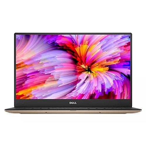 Dell 9360-4445 Laptop, 33,78 cm (13,3 inch QHD+ Touch XPS), Intel Core i7-7560U, 8 GB RAM, 256 GB SSD, Iris Plus 640, Win 10 Home, goud
