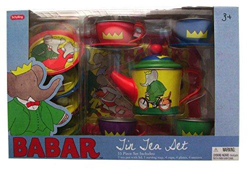 Babar the Elephant 15pc Tea Set