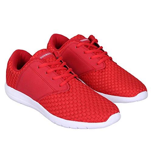 Hoodboyz Surface Herren Low-Sneaker Rot
