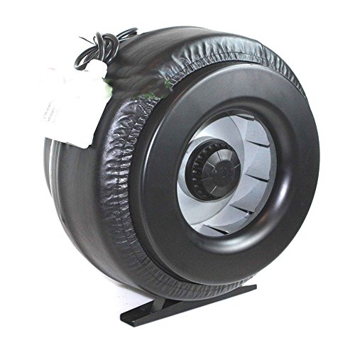 12' Inch Inline Duct Fan Vent Exhaust Air Cooled Hydroponic Fan Blower 1200CFM, New