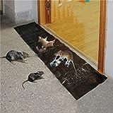 LifeBest Tablero de ratón pegajoso eficiente Trampa para Ratones doméstica Tableros de Pegamento para Ratas no tóxicos Adhesivo para Trampa de cucarachas de grillo