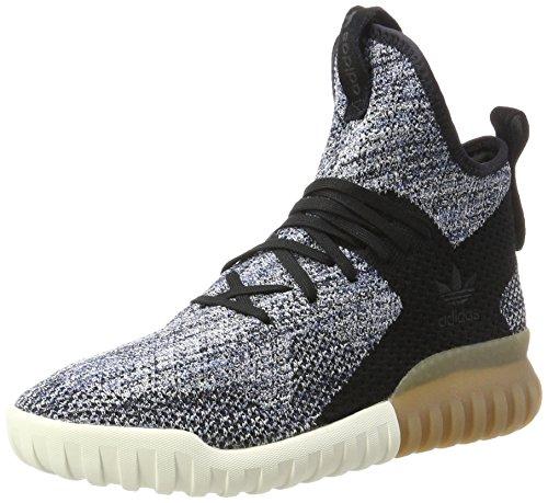 adidas Unisex-Erwachsene Tubular X Primeknit Sneakers Schwarz (Core Black/Trace Tactile Blue), 36 EU