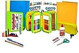 Juego completo de papelería para escuela primaria, juego completo de papelería, lápices de colores, tijeras, pegamento, reglas escolares, primaria, rotuladores, lápices de colores para niños