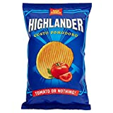 San Carlo Highlander, Patatine Chips al Gusto di Pomodoro, 130g