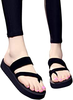 ETbotu Casual sandals Women Home Anti-slip Foam Sole Comfortable Flat Heel Fashion Slipper