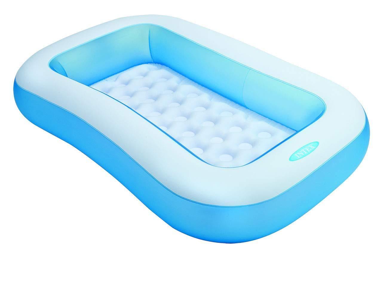 Intex Piscina para bebés Pequeña piscina para niños Piscina rectangular 166 x 100 x 28 cm: Amazon.es: Jardín