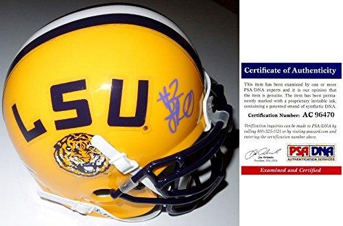 JaMarcus Russell (LSU Tigers) Signed Autographed Mini Helmet (PSA/DNA COA)
