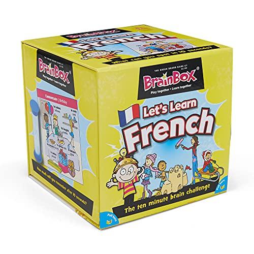 The Green Board Game Co. BrainBox–Lasst und Französisch Lernen