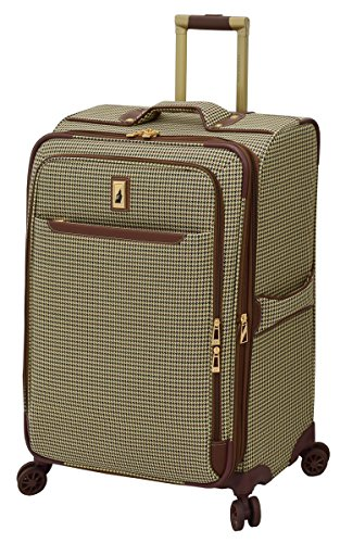 London Fog Cambridge II 25' Expandable Spinner, Olive Houndstooth
