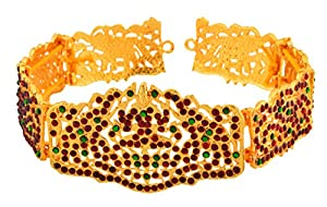UG PRODUCTS Gold Copper Kemp Waist Belt for Women