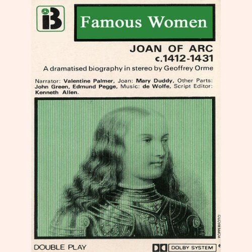 Joan of Arc, 1412-1431: The Famous Women Series audiobook cover art