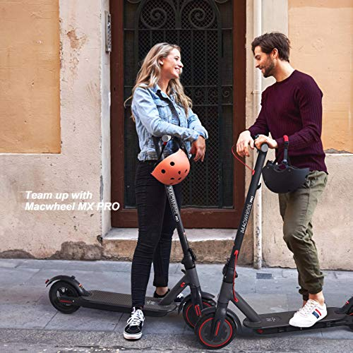 Macwheel MX PRO Electric Scooter, 25 Miles Long-Range Battery, Max Speed 15.5 MPH, Non-Pneumatic Tires, Foldable and Portable Electric Scooter for Adults, Commute and Travel