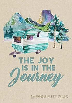 Camping Journal & RV Travel Logbook, Blue Vintage Camper Journey (Adventure Journals & Log Books) from CreateSpace Independent Publishing Platform
