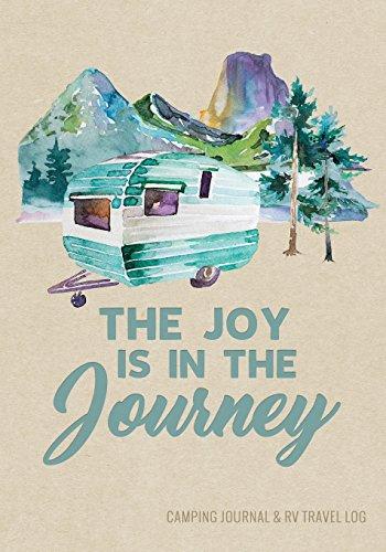 Camping Journal & RV Travel Logbook, Blue Vintage Camper Journey (Adventure Journals & Log Books)