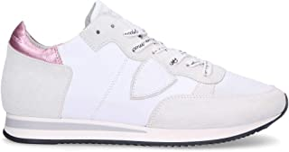 Philippe Model Luxury Fashion Womens TRLDWM31 White Sneakers   Fall Winter 19