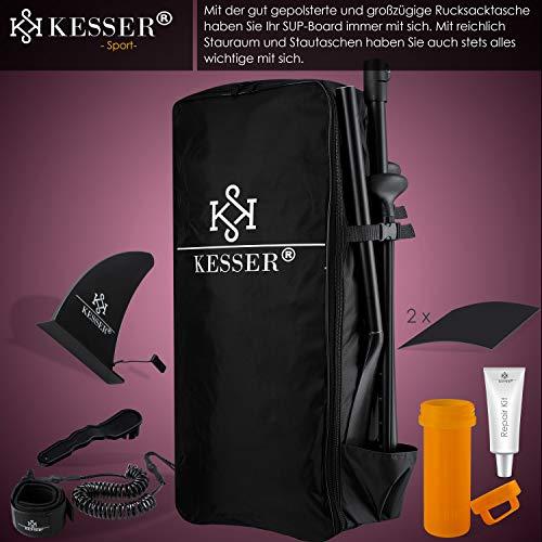 KESSER® SUP Board Set Pink 320x76x15cm - 5