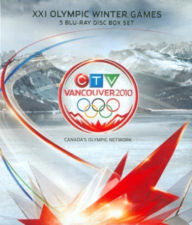 Vancouver 2010 Olympic Winter Games Limited Edition Box Set BLU RAY