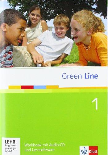 Green Line 1 - Workbook mit Audio-CD und Lernsoftware (für Gymnasium)