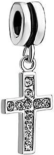 Cross Dangle Charm Beads For Bracelets