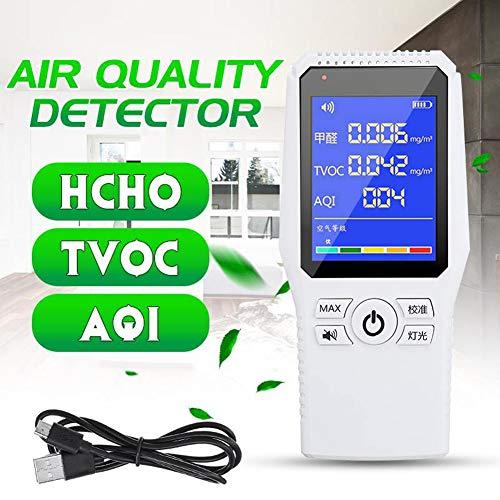 DZSF Formaldehyd-Detektor-Prüfvorrichtung HCHO TVOC AQI Luftqualität Pollution-Test Analysieren Auto Haushalt Air Quality Monitor Gas Analyzer