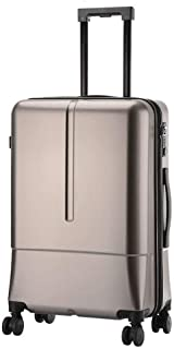 YUMILI Business Boarding Student Password Lock Luggage Trolley Caster Suitcase Zipper Large-Capacity Suitcase (Color : E, Size : 24inch)