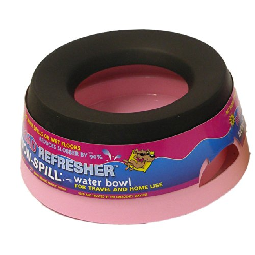 Road Refresher Non Spill Water Bowl Klein Roze
