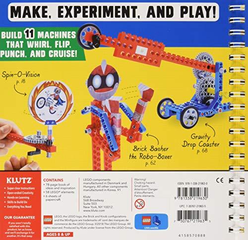 Klutz Lego Gadgets Science & Activity Kit, Ages 8+